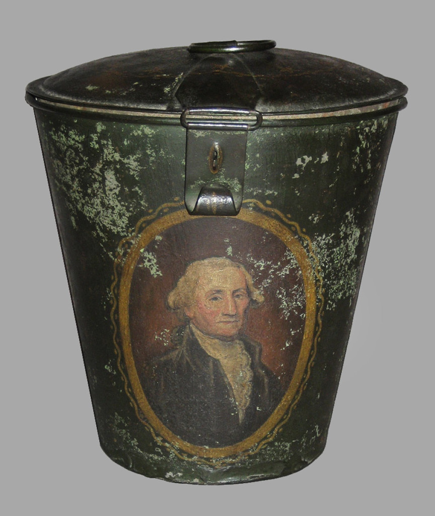 Canister, United States; 1840-76.   Bequest of  H.F. du Pont, 1958.3029