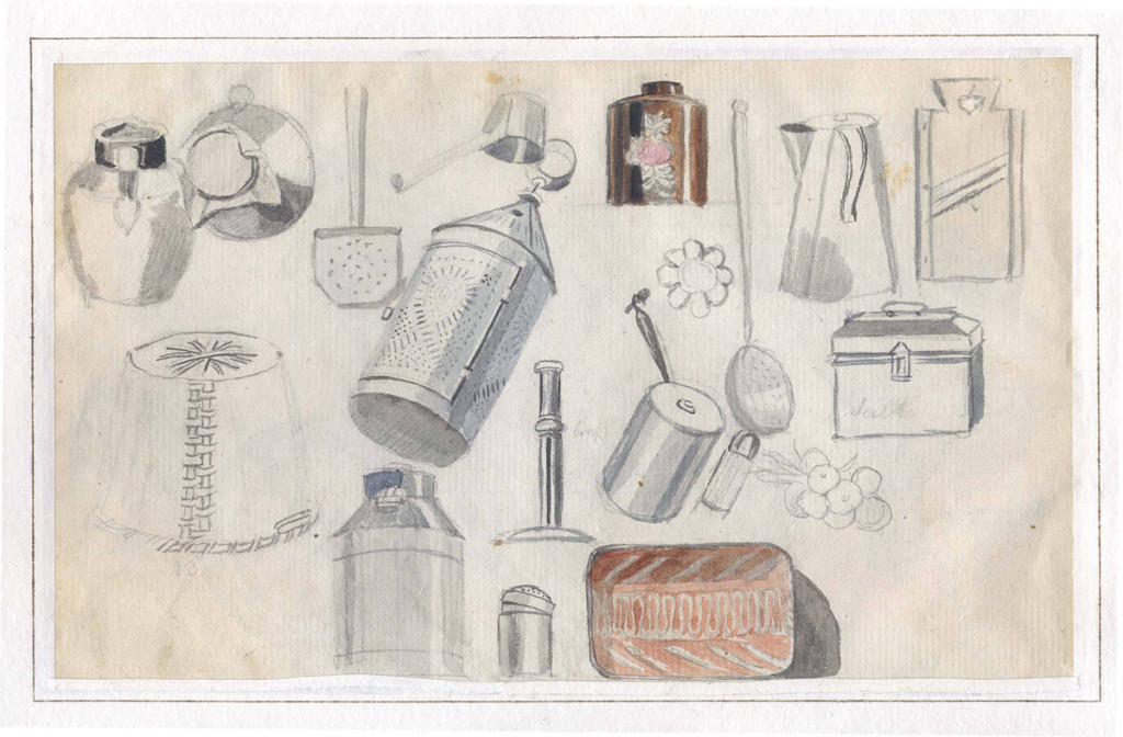 J.L. Krimmel, sketchbook, ca. 1816-21.  Winterthur Library, Joseph Downs Collection of Manuscripts and Ephemera