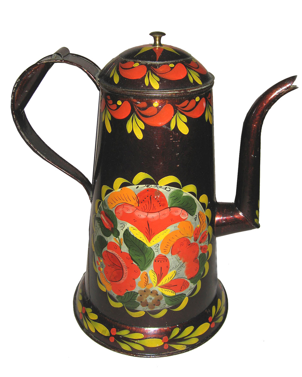 1965-1599 Coffee pot, ca1900 rev'd
