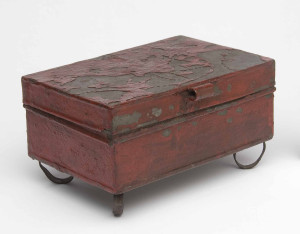 Spice box, probably made in Pennsylvania, 1800-75. Bequest of H.F. du Pont, 1965.1788