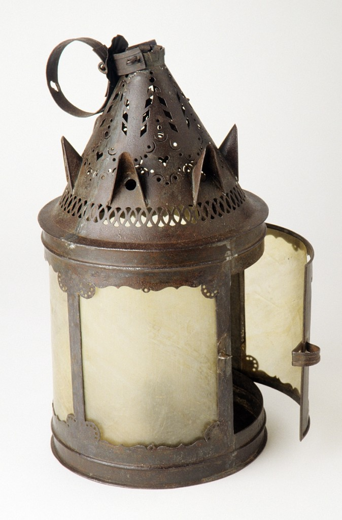 Lantern, probably made in England, 1810-30.  Bequest of H.F. du Pont, 1967.1808